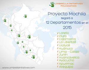 Mapa Umbrella 2015